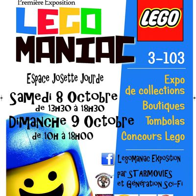 Exposition LEGOMANIAC