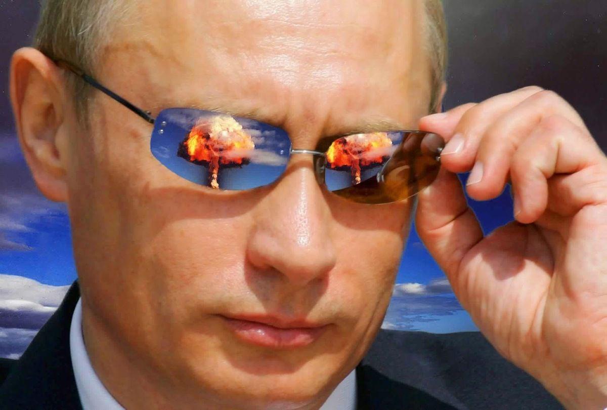 """Poutine : """"Ne cherchez pas d'histoires à la puissance nucléaire qu'est la Russie"""""""
