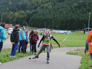 Championnat de France de ski d'été à Arçon.