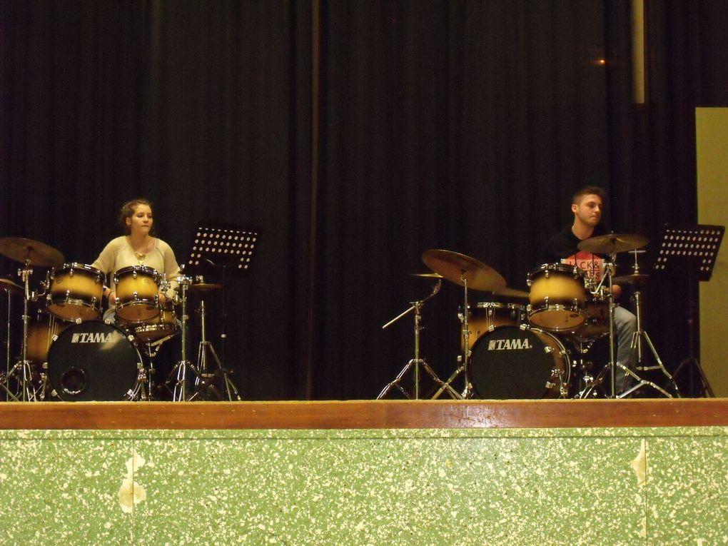 Concert des seconds cycles. 14 février 2015. Salle des fêtes de Tilchatel