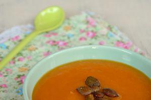 Soupe de tomate et potimarron