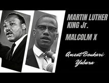 Martin Luther King Jr et Malcolm X