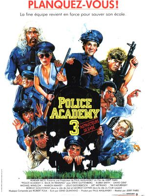 Police Academy 3 de Jerry Paris