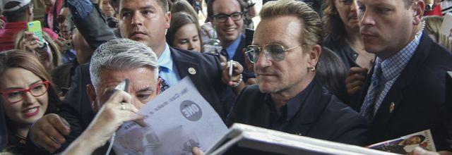 Bono au Parlement d'Ottawa
