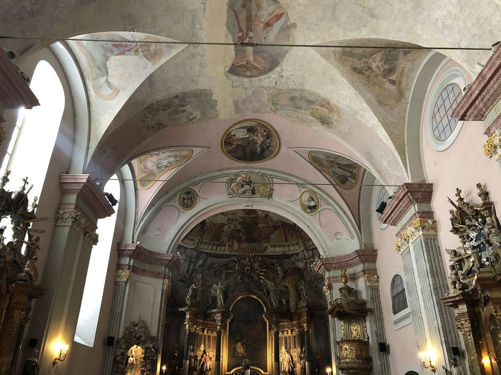 L'église Saint-Michel de Belváros, Budapest.