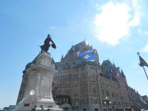 Québec, une ville qui se prête à la promenade avec de solides montées