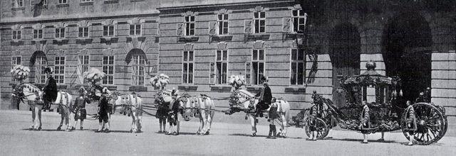 Les écuries impériales de Vienne2 : voitures et équipages