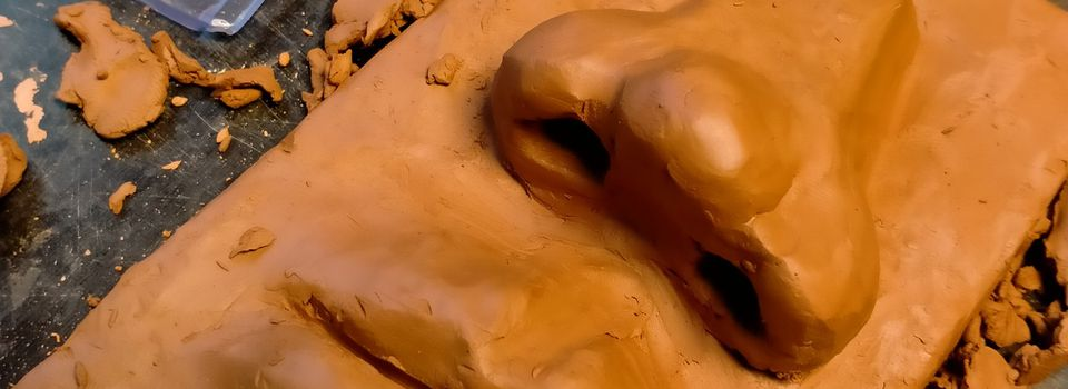 Sculpture enfants : on attaque l'anatomie du visage 😅