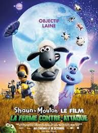 "Shaun le mouton: "" La ferme contre attaque"".  ( A Shaun the sheep movie: Farmaggedon )"