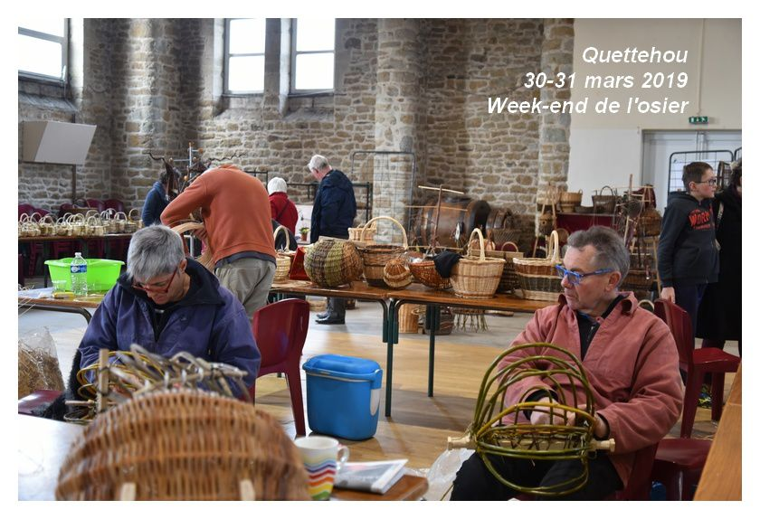 Quettehou : Week-end de l'osier