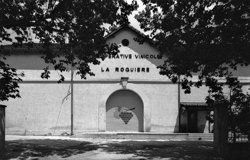 Cave coopérative de La Roquebrussanne.
