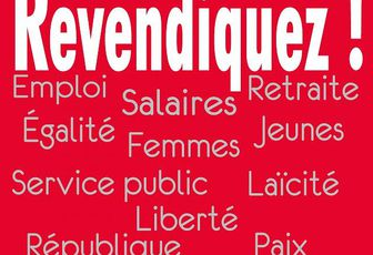 Pratique Vendredi 1er mai : Expression de la solidarité internationale