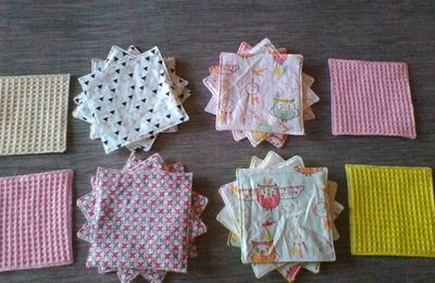 Lingettes 100% recyclables
