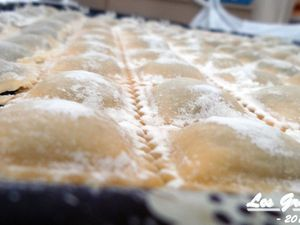 Recette : Ravioli blettes et ricotta maison