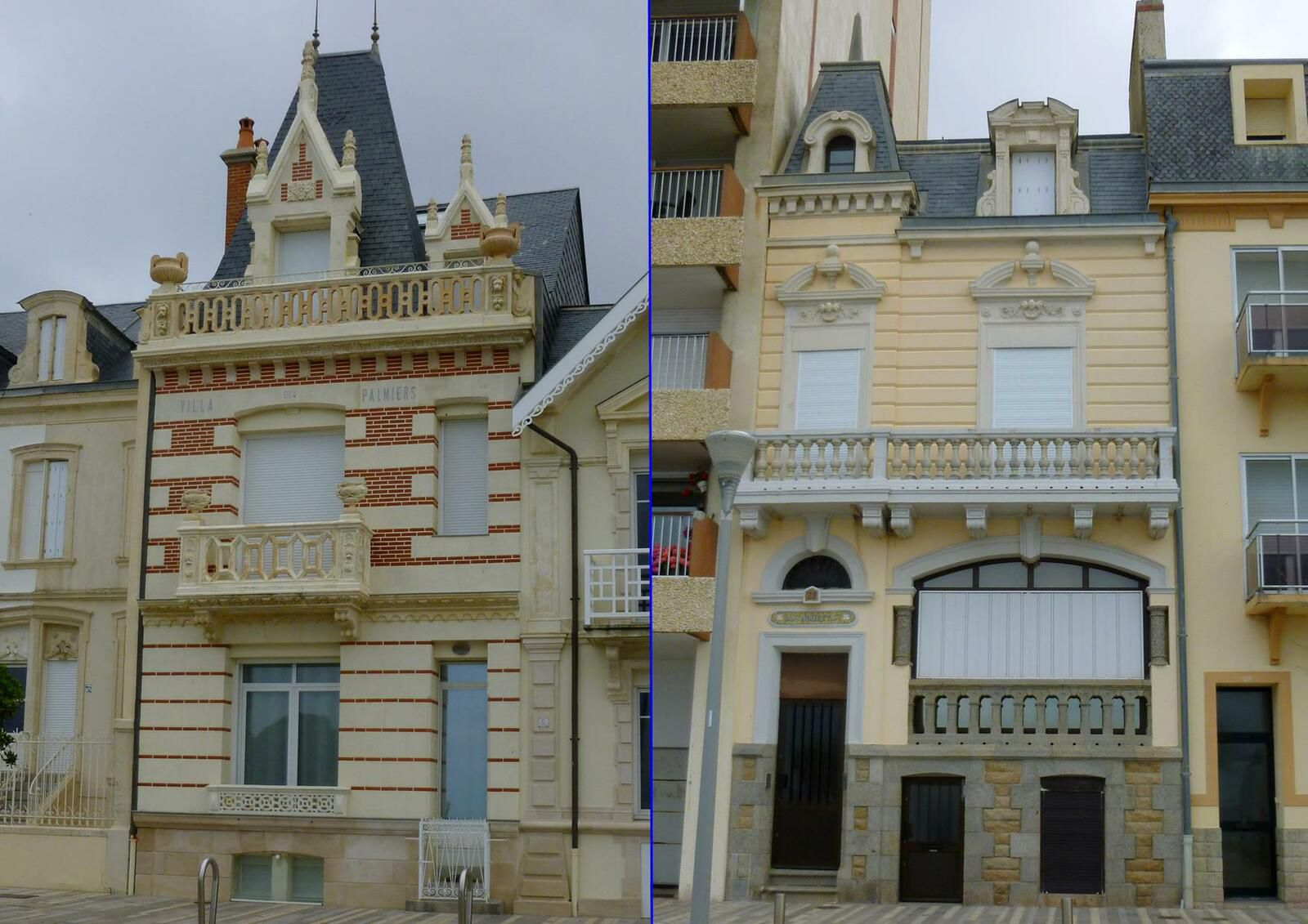 Villas et maisons du Remblai