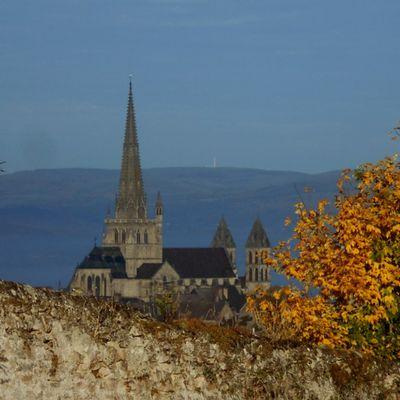 L'automne dore déjà les hauteurs d'Autun