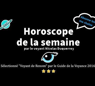 Balance votre horoscope de la semaine à venir par le médium de renom Nicolas Duquerroy