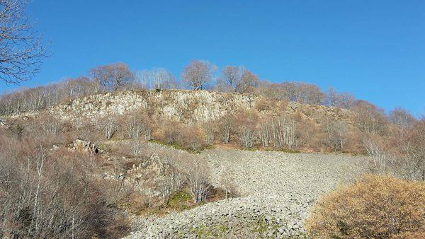 Le basalte de la Franconèche