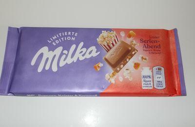 Milka Popcorn, Knister & Karamell Schokolade