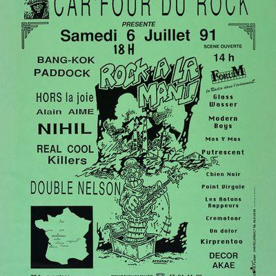 CAR'FOUR DU ROCK 1991