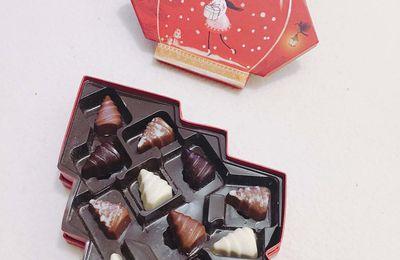 On offre quoi comme chocolats à Noël ? Des sapins Leonidas