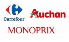 Carrefour,Auchan et Monoprix parmi les 50 marques françaises les plus puissantes