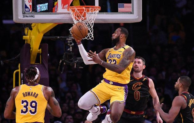 LeBron James n'a pas fait de sentiments face à Cleveland