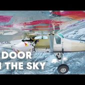 2 wingsuit flyers BASE jump into a plane in mid-air. | A Door In The Sky