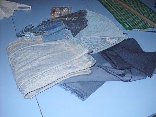 Vieux jeans utile