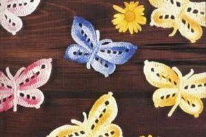 """Crochet : Patrons & modèles gratuits 18"""" Papillons au crochet """""""
