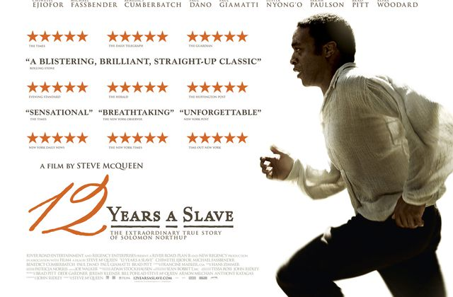 12 YEARS A SLAVE – Steve Mac Queen – Chiwetel Ejiofor
