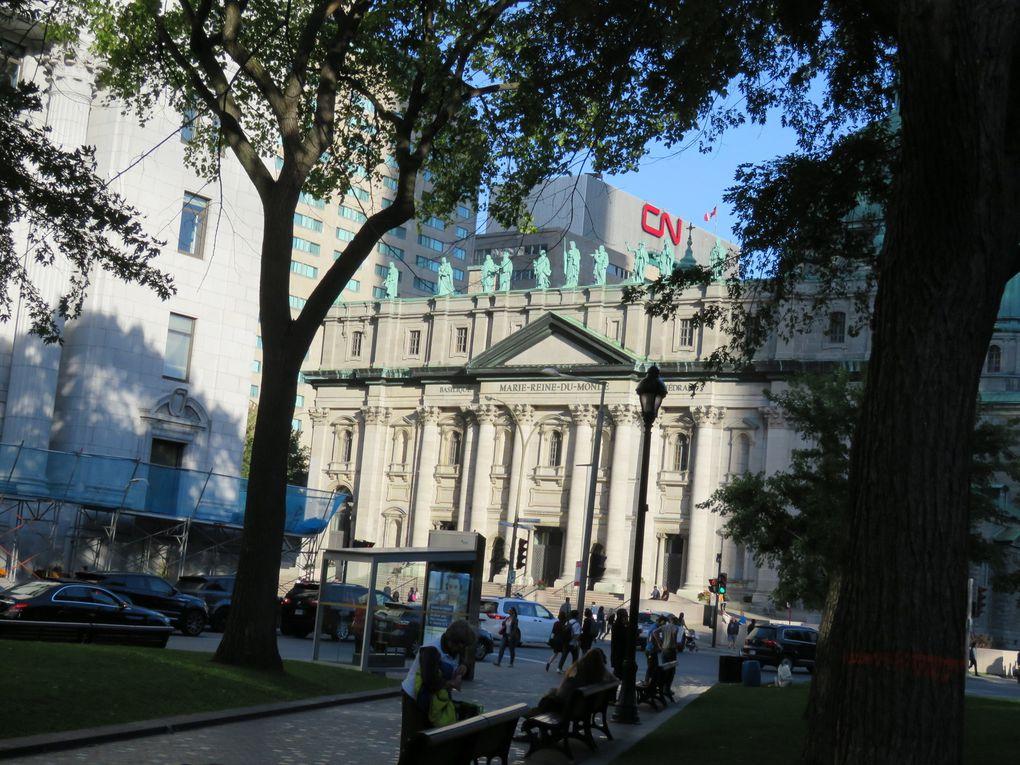 Fin de voyage au Canada ...... Les deux derniers jours  à Montréal