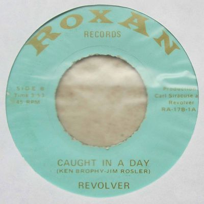 Revolver – Roll-A-Coaster Man / Caught In A Day (1973)