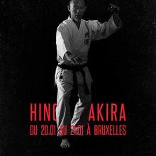 Hino Akira à Bruxelles, 20 et 21 janvier