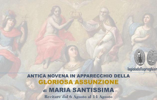 Le 7 Novene in apparecchio alle 7 principali feste di Maria Santissima: Novena per l'Assunzione di Maria Santissima