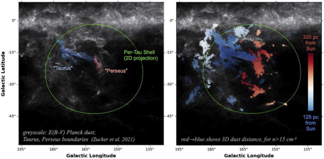 Une cavité géante découverte dans la Voie lactée