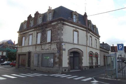 Quartier Marchaux : la rue de la Caisse d'Epargne.