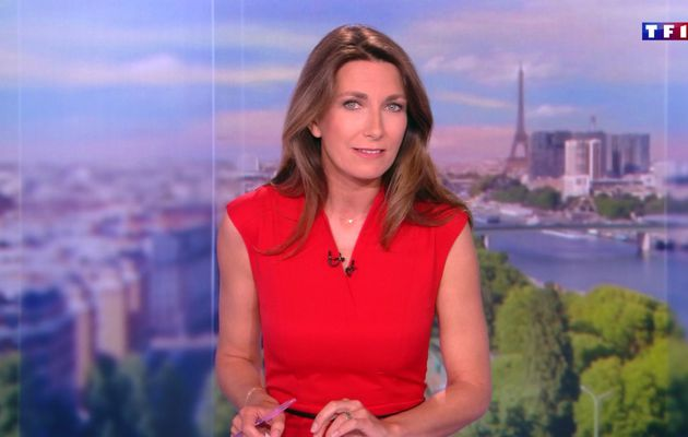 📸9 ANNE-CLAIRE COUDRAY @ACCoudray @TF1 @TF1LeJT pour LE 20H WEEK-END #vuesalatele