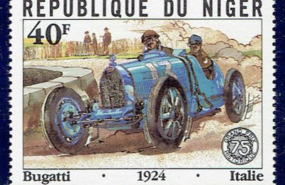 L'automobile Bugatti Type 35 de 1924