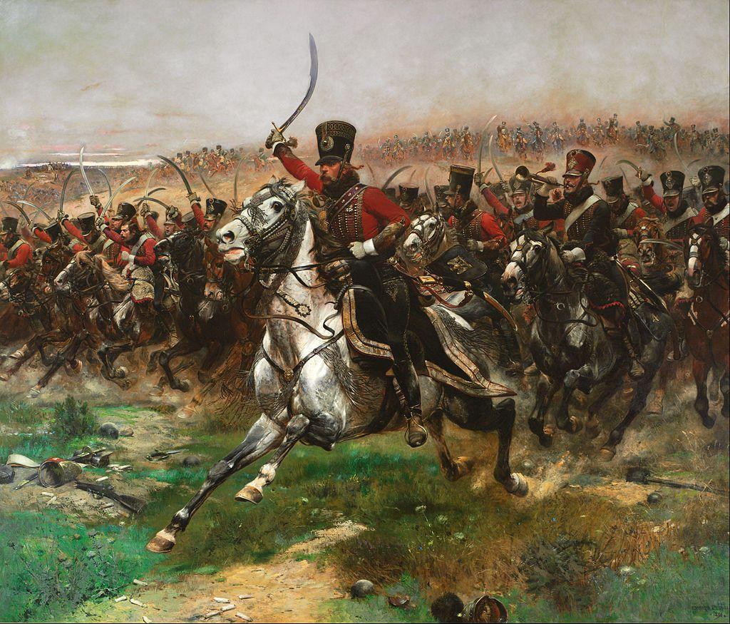 Charge du 4e hussards à la bataille de Friedland, par Edouard Detaille.
