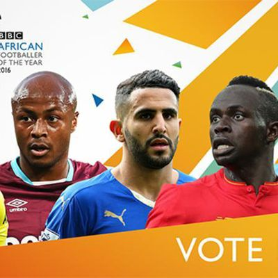 Vote for BBC African Footballer of the Year 2016