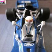F1 TYRRELL 003 JACKIE STEWART GP FRANCE 1972 - QUARTZO 1/43 - car-collector.net