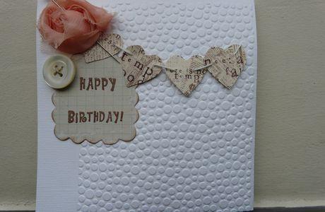2 cartes d'anniversaire