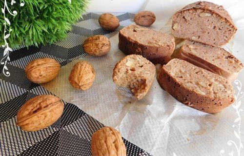 Cake aux noix healthy