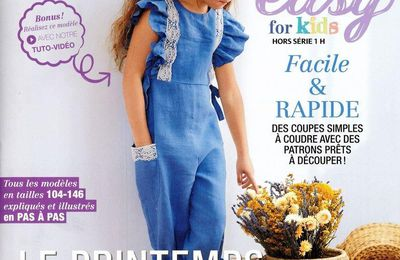 Magazines de mars 2021: Burda Easy Hors-série for Kids n°1