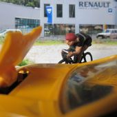 RENAULT ALPINE A310 1971 JAUNE D'OR NOREV 1/43 - car-collector.net