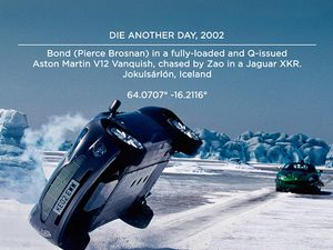 "Photos du film ""Die another day"" / 007."