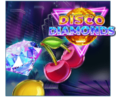 machine a sous Disco Diamonds logiciel Play'n Go