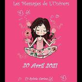 MESSAGE DE L'UNIVERS 20 avril 2021 LA COLOMBE NOUS APPORTE UN MESSAGE DE PAIX ET D ASCENSION