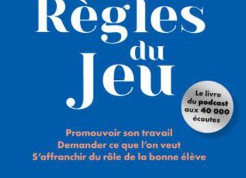 """Livre de la semaine recommandé par Femmes 41, """"Les Règles du jeu"""" de Clara Moley"""